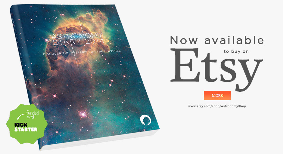 Buy Astronomy Diary at Etsy